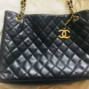 Authentic Certified Chanel Quilted Satchel